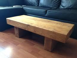 rustic solid oak coffee table chunky rustic solid oak sleeper coffee table this table is available