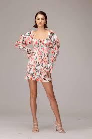 Betty Linen Blend Mini Dress – SAU LEE