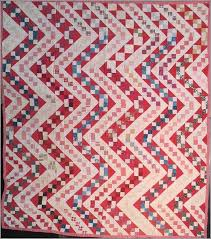 447 best Pennsylvania Antique Quilts images on Pinterest ... & Streak of Lightning Antique Quilt, mostly red and white early century  prints. Seen at Laura Fisher Quilts Adamdwight.com
