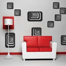 Small Picture Depth Shapes Wall Decals Trendy Wall Designs