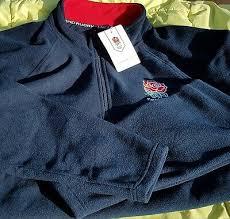 official england rugby fleece 1 4 zip size m medium brand new bnwt