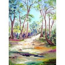 la primavera 2 spring landscape painting