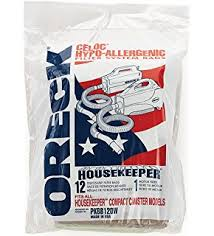 oreck commercial xl2100rhs 8 pound commercial upright vacuum blue oreck commercial pkbb12dw super compact canister advanced filtration disposable bags pack of 12