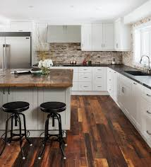 open concept kitchen large transitional l shaped dark wood floor open concept kitchen idea