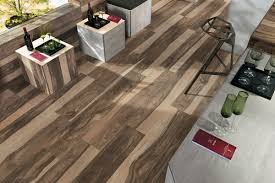 Tiling Kitchen Floor Wood Look Tile 17 Distressed Rustic Modern Ideas
