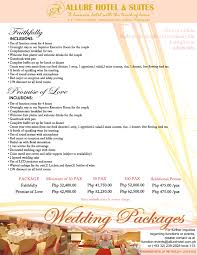 Affordable Wedding Packages In Manila 2015