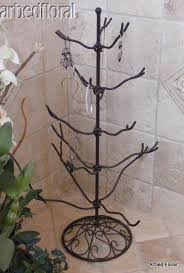 Wrought Iron Ornament Display Stand Interesting 32 Wrought Iron Jewelry Ornament Tree Stand Great Display For Shows