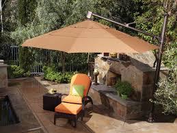 treasure garden cantilever aluminum 11 foot wide crank lift tilt from 13 garden treasures patio furniture