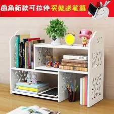 creative office storage. Creative Desk Shelves Retractable Desktop Cutout Bookcases For Children Easy Storage Rack Dorm Office N