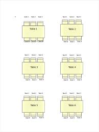 12 Seating Chart Examples Samples In Pdf Doc Examples