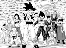 In 1996, following the success and popularity of the dragon ball z anime series, toei animation decided to extend the franchise beyond the original manga. Dragon Ball Super Raw 20 Dragon Ball Super Manga Dragon Ball Dragon Ball Super