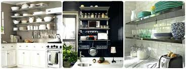 metal shelving kitchen beautiful on intended for wall shelves open stainless open shelving