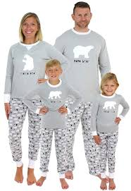 Amazon.com: Sleepyheads Holiday Family Matching Polar Bear Pajama PJ Sets: Clothing
