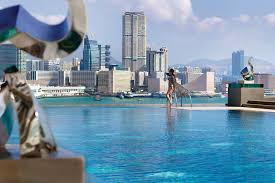 Beautiful Infinity Pool Hong Kong Seasons Hotel I Throughout Concept Ideas