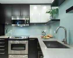 Brilliant Modern Kitchen Backsplash Glass Tile Full Size Of With On Design