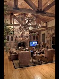 Vaulted Living Room Decorating Living Room Vaulted Ceiling Beams Lighting Home Decor