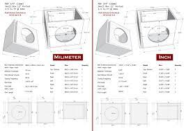 Detail 12 Ported 1 5 Cu Ft 34hz Sub Box Design Home Theater Subwoofer Box  Design