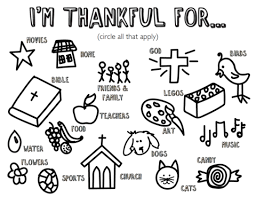 Im Thankful Coloring Page 100 Most Popular Free Childrens