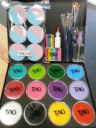 face painting starter kits face paint supplies perth western australia