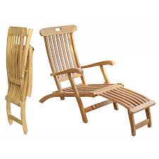 outdoor lounge chair teak steamer