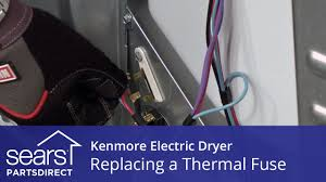 how to replace a kenmore electric dryer thermal fuse how to replace a kenmore electric dryer thermal fuse