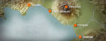 british museum eruption timeline Map Of Italy Naples And Pompeii map of bay of naples naples pompei map