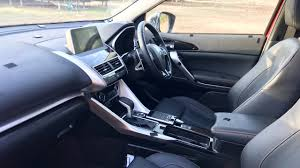 2018 mitsubishi eclipse interior. unique eclipse 2018 mitsubishi eclipse cross prototype interior in mitsubishi eclipse