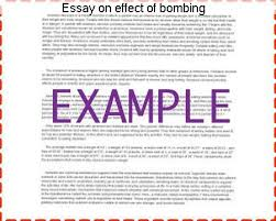 essay on effect of bombing college paper academic writing service essay on effect of bombing the effects of the atomic bomb essaythe atomic bomb