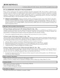 Project Management Resume Key Skills Project Management Resume
