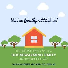 Housewarming Invitations Templates Delectable Customize 48 Housewarming Invitation Templates Online Canva