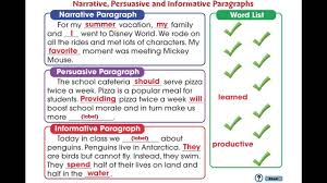 how to write a basic paragraph writing basics what makes a good  cc how to write a paragraph narrative persuasive and cc7104 how to write a paragraph narrative