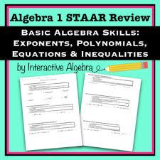 Algebra Staar Worksheets Teaching Resources Teachers Pay