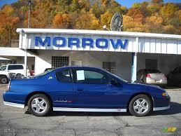 2003 Superior Blue Metallic Chevrolet Monte Carlo SS Jeff Gordon ...