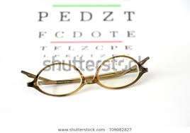 Reading Glasses Fitting Farsighted Lens On Stock Photo Edit
