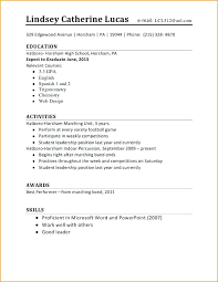 how to create a resume for your first job first job resume how to make your