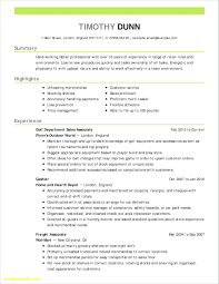 Summary For Resume Retail Resume Resume Templates For Retail