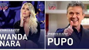 Wanda Nara e Pupo, opinionisti del Grande Fratello VIP 2020 ...