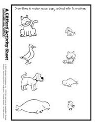 Small Picture Baby Animals Names Baby animals Worksheets and Animal