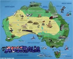 Материалы на русском и английском о туризме в Австралии видео   travel map 60 2