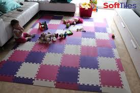 foam tiles for playroom startling modern designer floor using softtiles purple pink and home interior 6