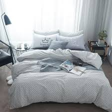 grey bedding sets white square paerns simple and comfortable design for s and teenagers queen king size comforter sets black and white duvet