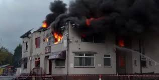 Northenden Golf Club clubhouse all but destroyed in fire