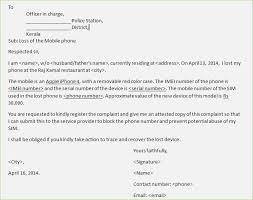 Complaint Format Fir Complaint Letter format thepizzashopco 26