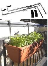 Plants On Balcony & Deck Railings