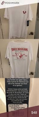 True Religion Plus Size Chart True Religion Mens Double Puff Tee Size Xxl True Religion