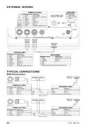 tiger shark wiring diagram wiring library external wiring typical connections gps connection seiwa tigershark plus user manual page