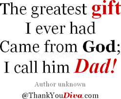 Thank You Quotes for Dad – Saying Thank You to Your Father