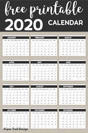 Create a personalized, printable lined weekly calendar in adobe pdf format. 2020 Free Monthly Calendar Template Paper Trail Design Calendar Printables Calendar Template Monthly Calendar