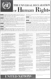declaration of human rights universal declaration of human rights