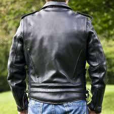 Interstate Leather Jacket Size Chart Mens Classic Motorcycle Jacket I